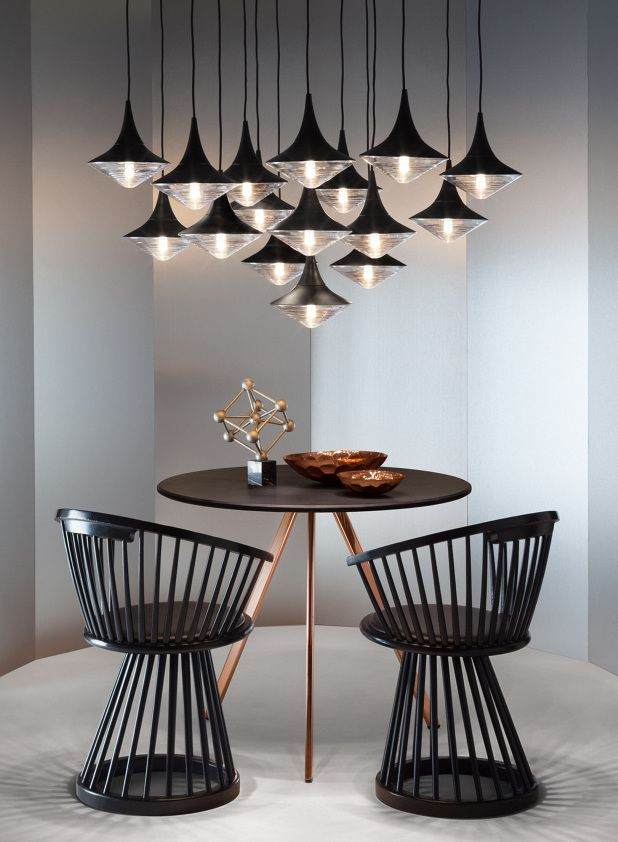 Sculptural aesthetic and precious materials: Tom Dixon characters at IMM Cologne 2015 @tomdixonstudio @immcologne