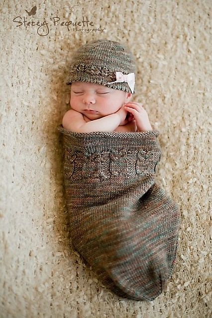 Ravelry: Project Gallery for Owlie Sleep Sack pattern by Teresa Cole Such a cute pattern!