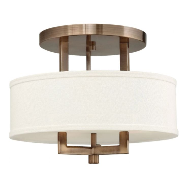 Hampton Semi Flush Ceiling Light | Hinkley Lighting At Lightology Part 83