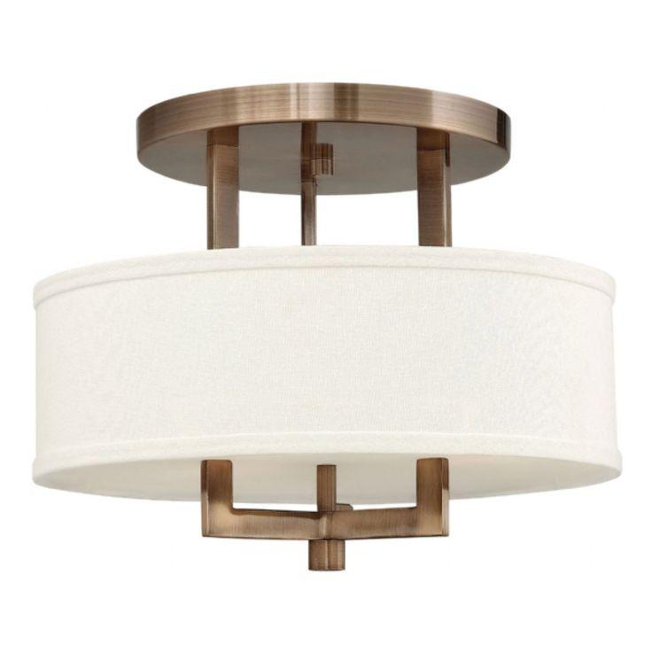 Hampton Semi Flush Ceiling Light by Hinkley Lighting