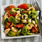 Vegan Asparagus Salad for Spring with Tomatoes, Hearts of Palm, and C ...
