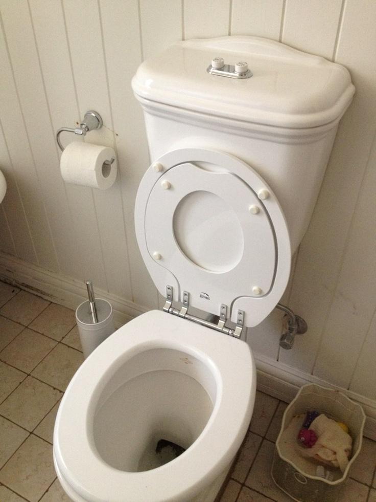 Inbuilt Child toilet seat insert, genius!