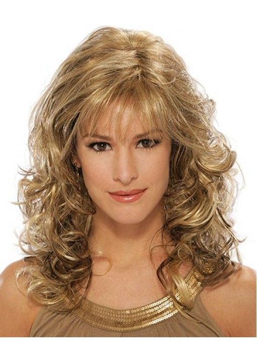 fine curly hairstyles