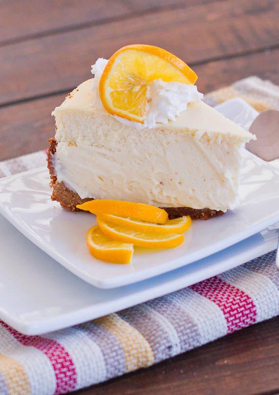 ❤️Meyer Lemon Cheesecake - luscious, creamy and refreshing. The perfect cheesecake!❤️