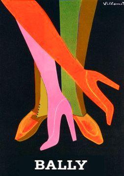 vintage advertising, Bernard Villemot