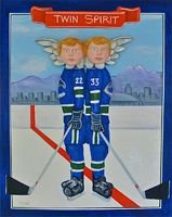 Saul Miller's tribute to the Sedin brothers, Twin Spirit. 21 April 2011.