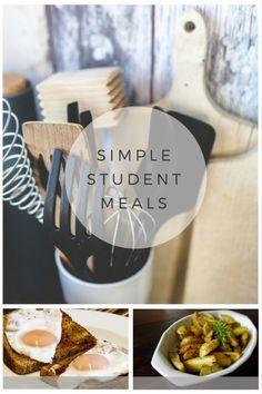Super simple student meal ideas
