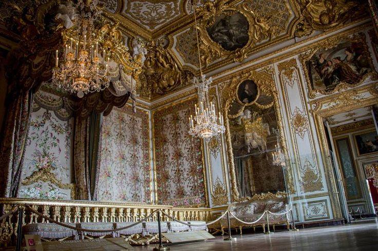 Ch teau de versailles lundi jourdefermeture la chambre - Chambre de la reine versailles ...