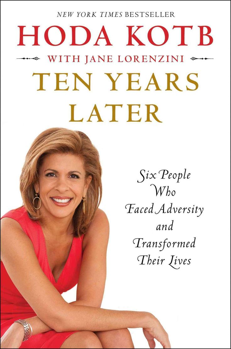 In Ten Years Later , New York Times bestselling author and beloved coanchor of the Today shows fourth hour Hoda Kotb examines game-changing moments experienced by six different peoplethen revisits tho