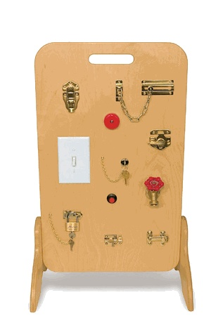 Locks & Latches Fine Motor Board