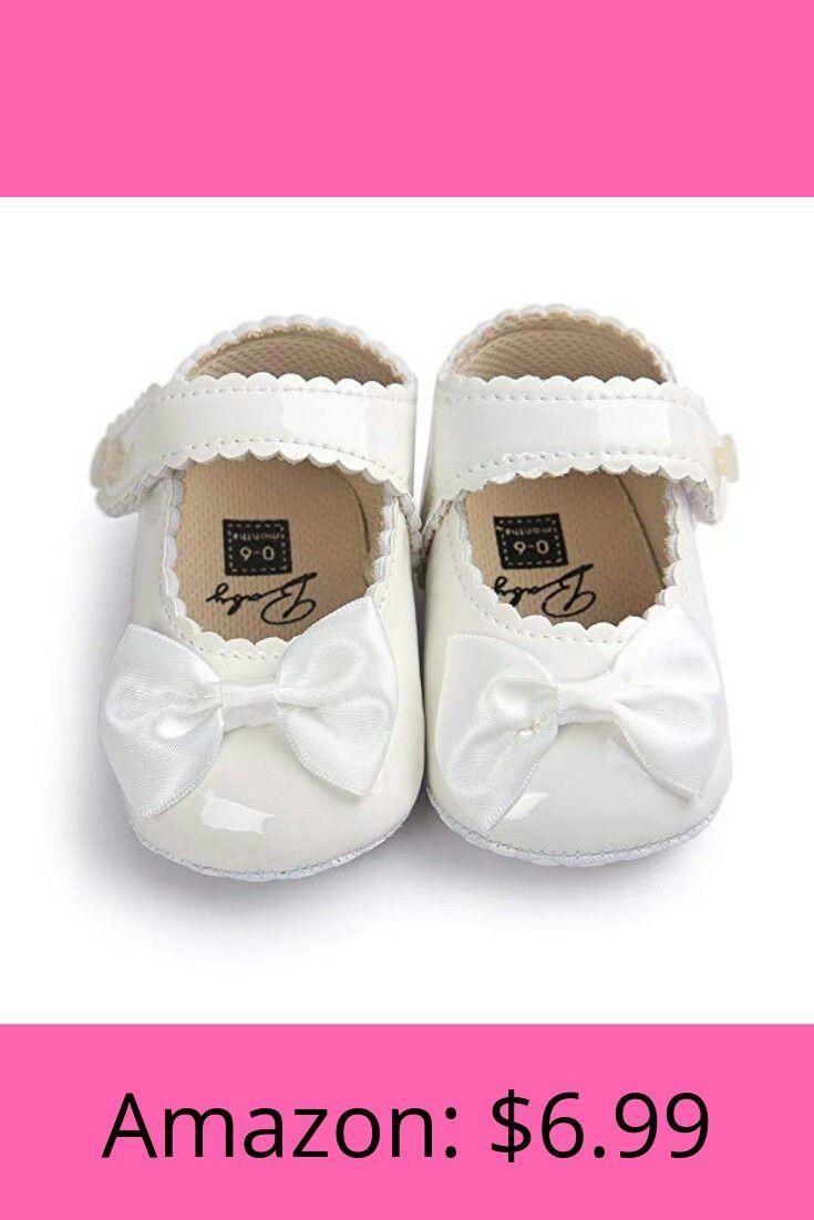 70a3b7b32b8b8 Sabe Infant Baby Girls Soft Sole Prewalker Crib Mary Jane Shoes ...