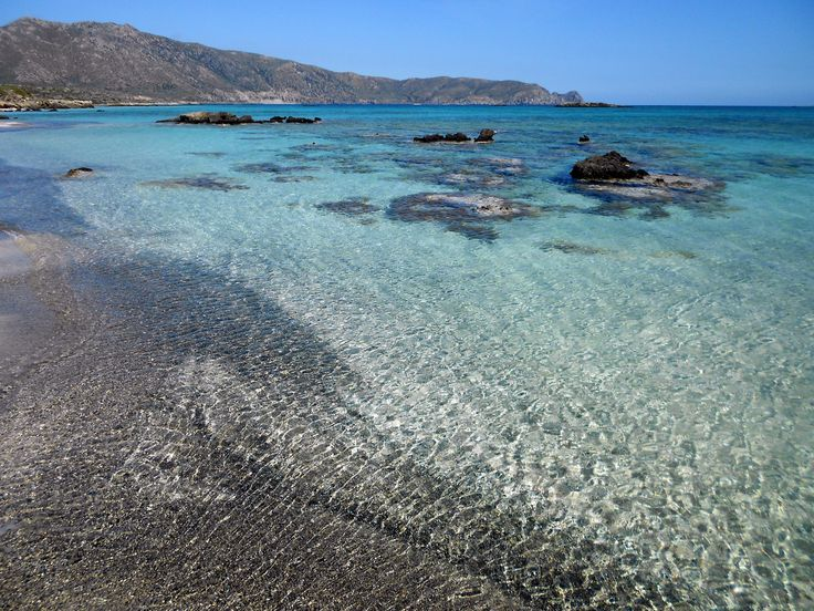 Elafonisi beach, South-West of Crete