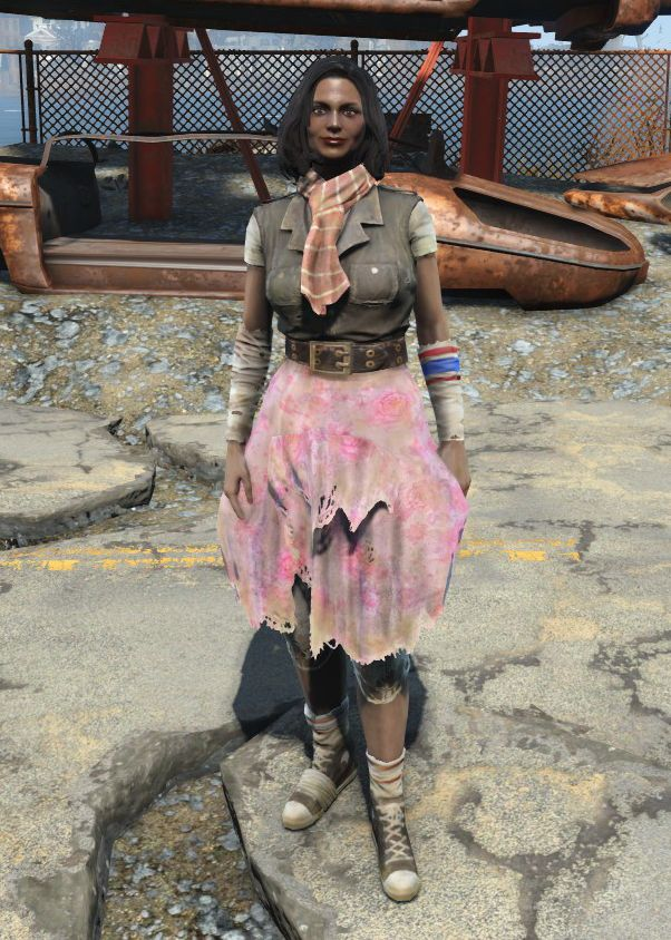 Ratty skirt (Fallout 4) in 2020 Yellow trench coat