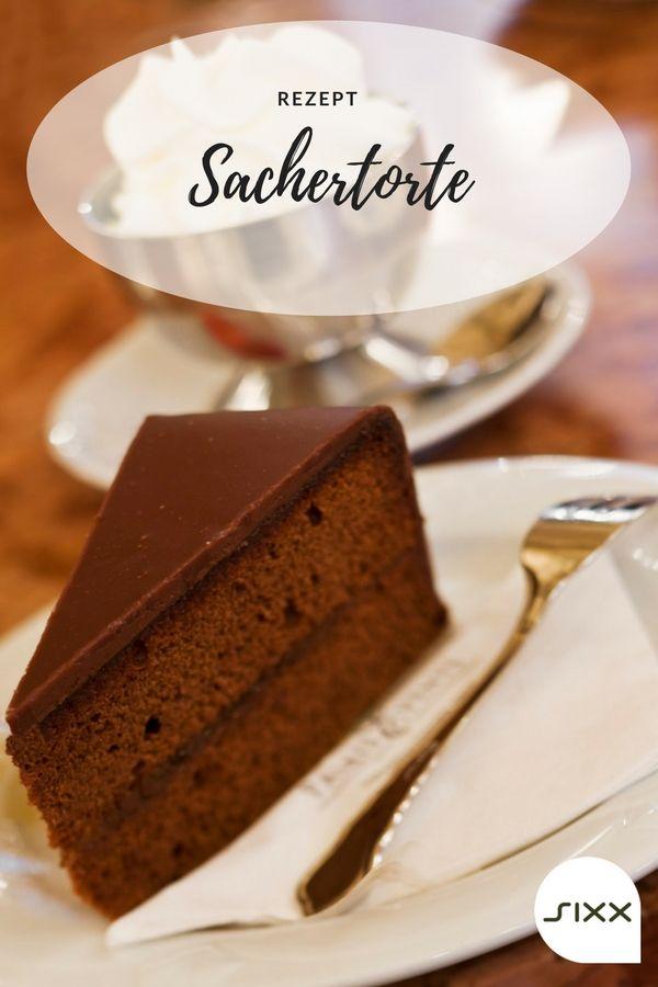 Sweet Easy Enie Backt Sachertorte Im Cafe Aus Schokobiskuit Rezept Enie Backt Lebensmittel Essen Sachertorte Rezept