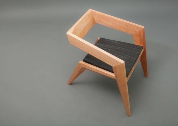 Feiern Avantgarde Minimalismus: 2R Avantgarde Holz Stuhl