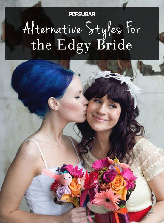 Pin for Later: Edgy and Bohemian Wedding Hairstyles For the Indie-Beauty Bride