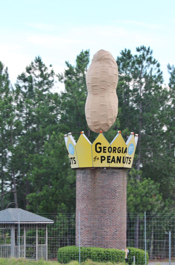 World's Largest Peanut Monument Ashburn, http