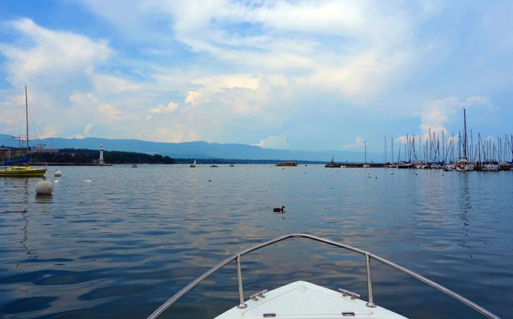 geneve on the boat