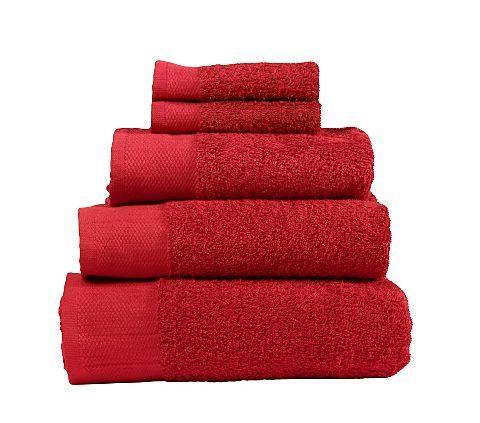 ASDA Towel Range - Cherry   Plain Towels   ASDA direct