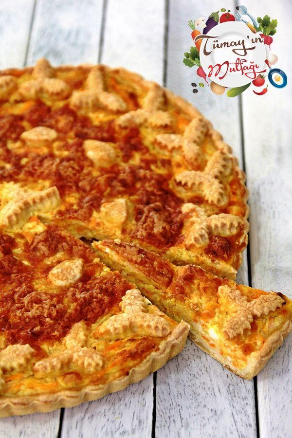 Kabaklı Peynirli Kiş | Tümayın Mutfağı - En İyi Yemek Tarifleri Sitesi