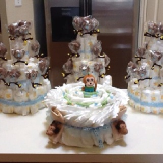 Monkey baby shower.