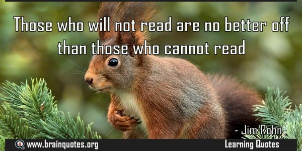 Those who will not read are no better off than those who cannot read  Those who will not read are no better off than those who cannot read  For more #brainquotes http://ift.tt/28SuTT3  The post Those who will not read are no better off than those who cannot read appeared first on Brain Quotes.  http://ift.tt/2eTA21t