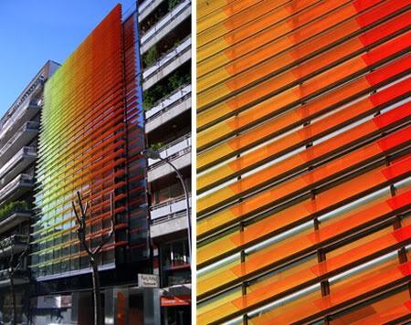 Horizontal Louvers Office Building, Barcelona Architects : Mestres - Nicolau