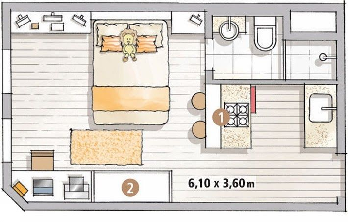 M s de 25 ideas incre bles sobre modelos de apartamentos for Modificaciones de casas pequenas