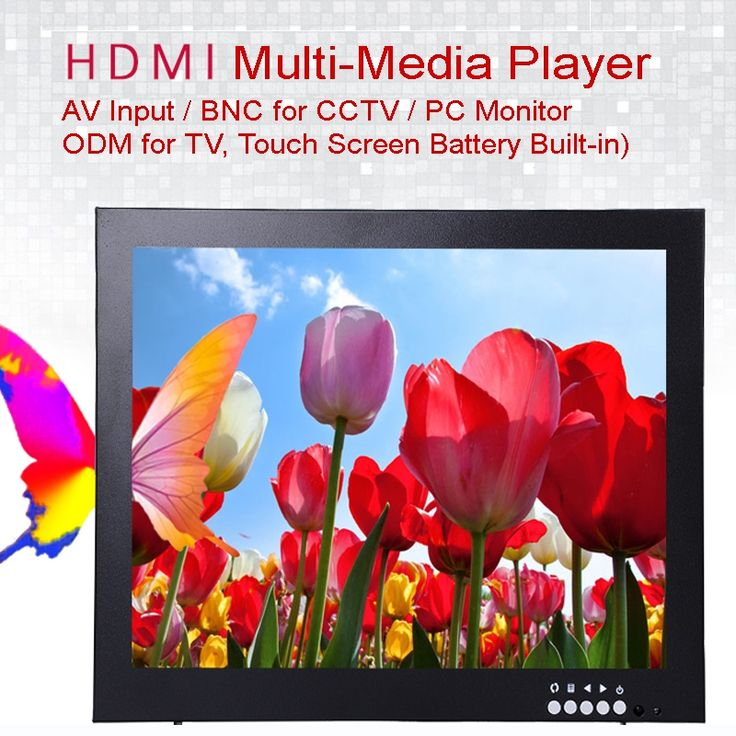 1460.00$  Buy here - http://ali4py.worldwells.pw/go.php?t=32791414444 - (10Pcs) 12 Inch 1024X768 HD CCTV Monitor with Metal Shell & HDMI VGA AV BNC Connector for PC Multimedia & Donitor Display