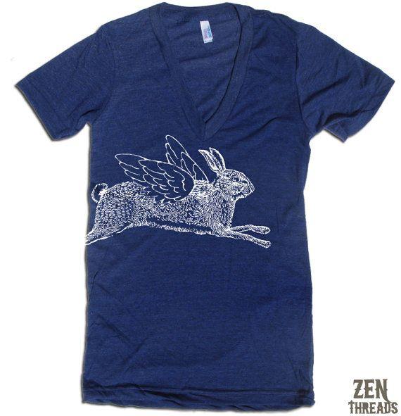 v-neck + winged bun = gotta have it:  T-Shirt, American Apparel, Bike Riding,  Tees Shirts, Apparel Xs, 11 Color, Vintage Bike, Shirts American, Namaste Deep