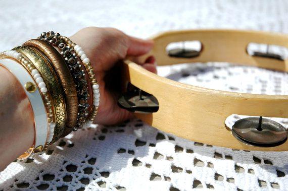 Boho vintage tamboerijn