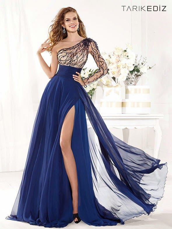 Elegantes vestidos de mujer para fiesta Modernos | Colección Vestidos 2015