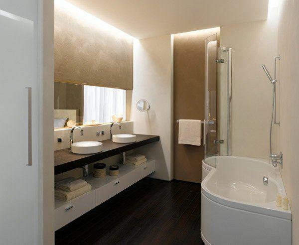 17 besten Bad Bilder auf Pinterest Badezimmer braun, Badezimmer - badezimmer aufteilung neubau
