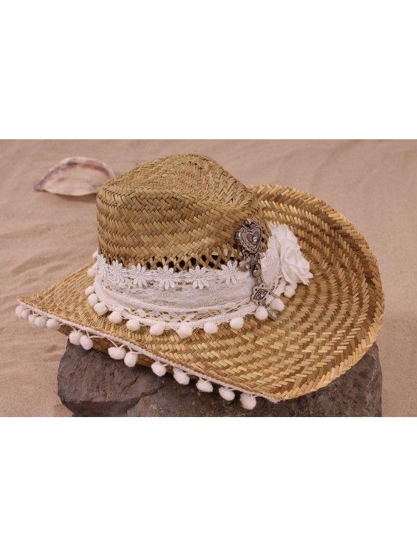 ibiza hoed Wit