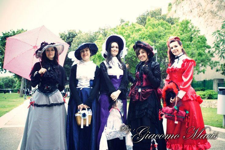 my victorian era <3 #passion #historical #victorian #era #events #costume #belle #epoque #cagliari #italy