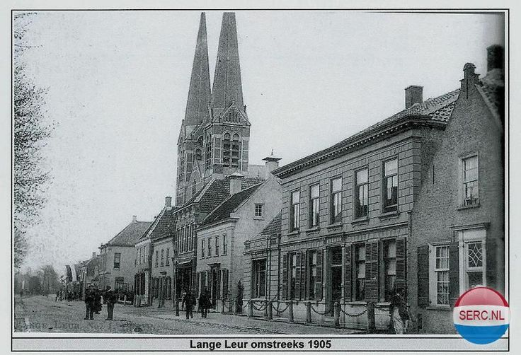 Lange Brugstraat Etten-Leur (jaartal: 1900 tot 1910) - Foto's SERC
