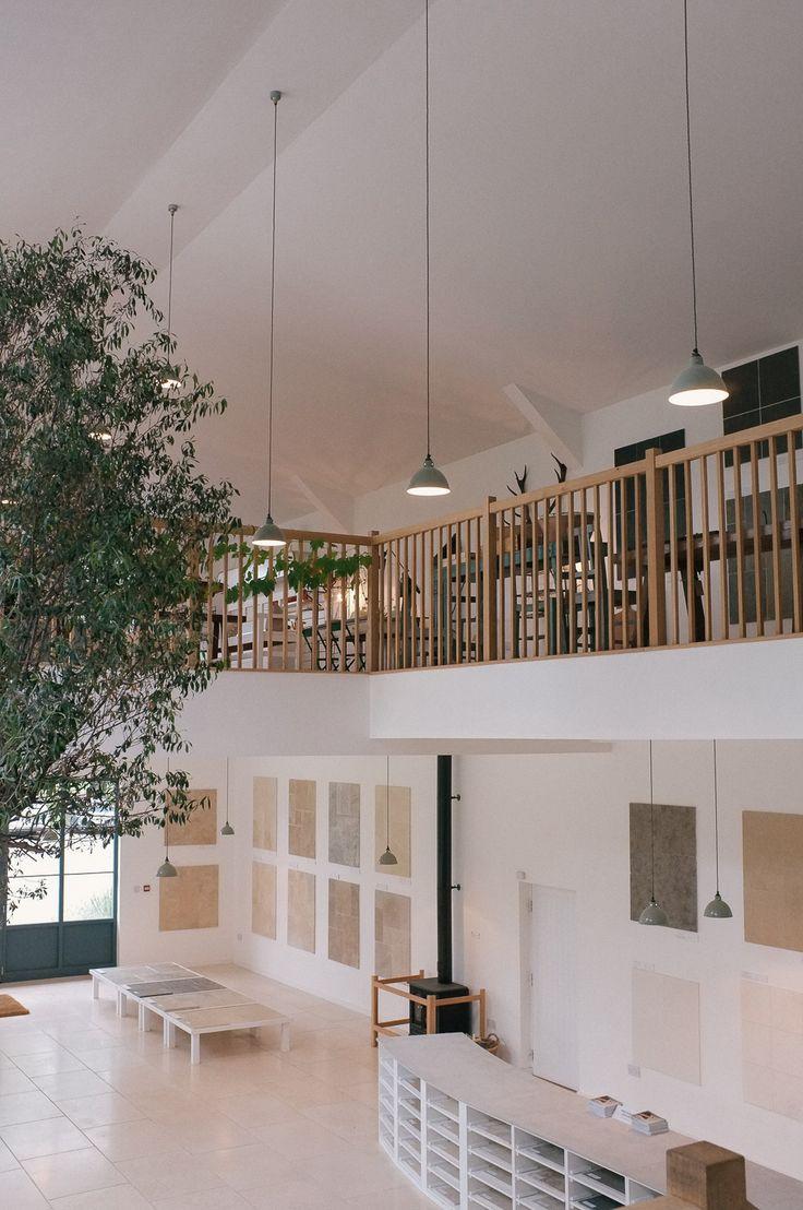 Good Floors Of Stone Showroom At DeVOLu0027s Cotes Mill Headquarters.
