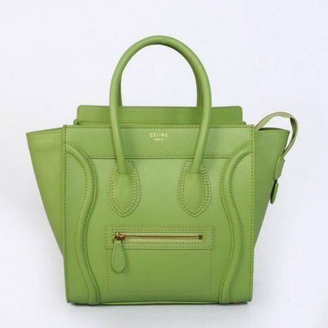 Wholesale Réplique CELINE BAGAGES MICRO en veau vert pale 2299D - €228.60 : réplique sac a main, sac a main pas cher, sac de marque | Celine luggage | Scoop.it