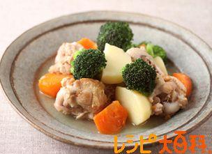 鶏手羽元とごろごろ野菜のうま塩煮のレシピ・作り方 | 鶏手羽元【AJINOMOTO Park】
