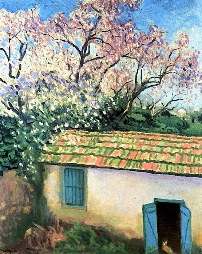 Almond Trees  Albert Marquet - 1943