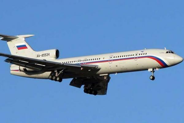 Akhirnya Ditemukan Pesawat Militer Rusia Jatuh di Laut Hitam