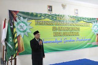 Kabar Persyarikatan: Pelantikan PRM se Jebres Surakarta