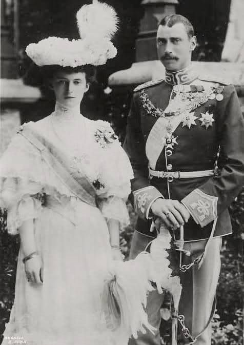 Christian X & Queen Alexandrine of Denmark