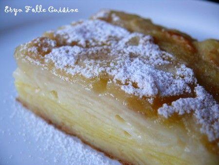 La recette d'Eryn - 3 belles pommes ( ou 4 petites ) - Golden - 3 belles poires ( ou 4 petites ) - Passe-Crassane - 2 oeufs - 10 cl de lait - 70 g de farine -...