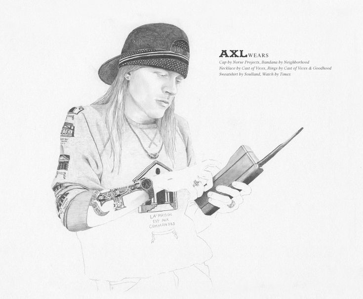 As Worn By Axl