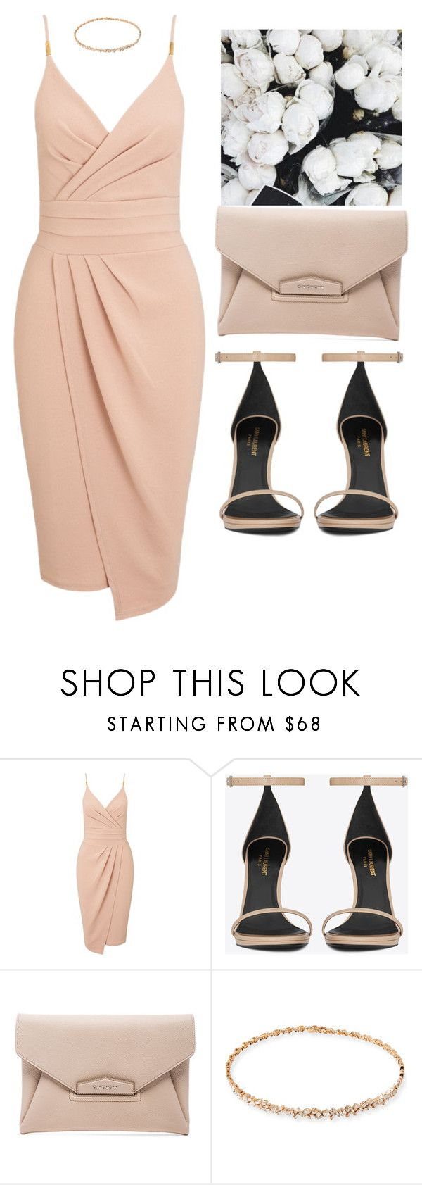 """""""Jupiter (654421645879273)"""" by toyin-t ❤ liked on Polyvore featuring Miss Selfridge, Yves Saint Laurent, Givenchy and Suzanne Kalan"""