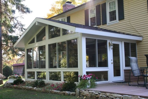 Year Round Sunroom Additions | My Year-Round Seaway Sunroom, Check out my sunroom! I added this ...