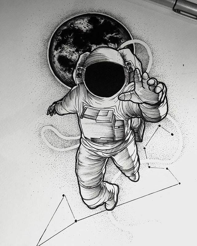 Pin De Fernando Amarilla En Feer Astronautas Dibujos Tatuajes