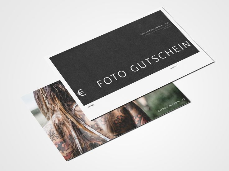 Fotoshooting Gutschein Berlin