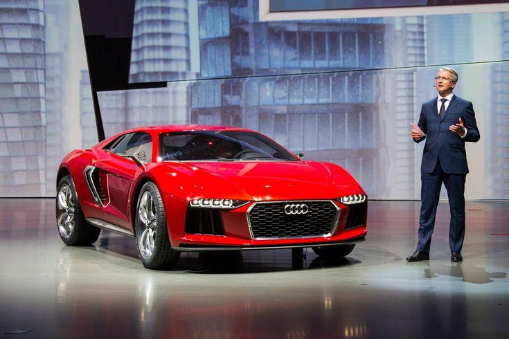 Lors de la soirée avant-première Volkswagen, la veille de l'ouverture du Salon de Francfort, Audi a dévoilé une surprise, le Nanuk Quattro Concept, un crossover sportif disposant d'un moteur V10 de 544 chevaux. Plus d'infos sur notre blog auto.